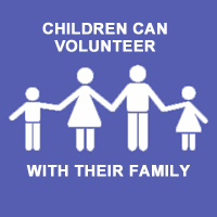 children volunteer